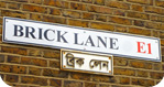 Brick Lane on East London Photography Course